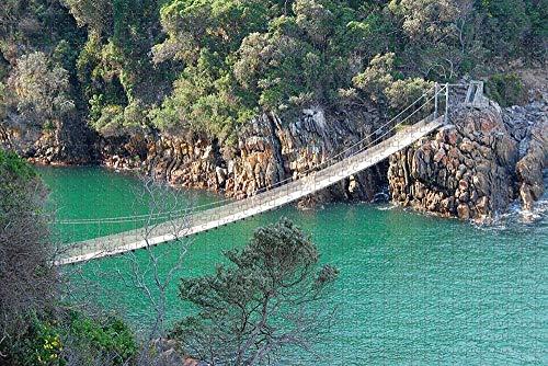Rompecabezas de Puente Colgante de Sudáfrica para Adultos Rompecabezas de Madera de 1000 Piezas para Adultos