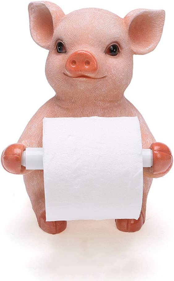 Toilet Paper Holder Cute Household Super Fort Worth Mall sale period limited Vertical Towel Desktop