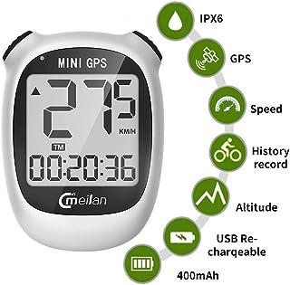 Computadora de Bicicleta GPS, Mini velocímetro y odómetro