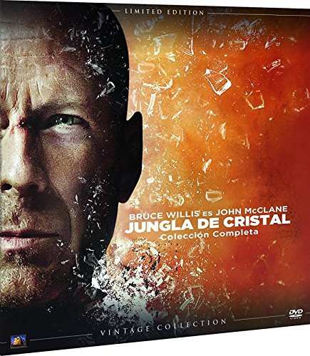 Jungla De Cristal Colección Completa Vintage 1-5 (Funda Vinilo) [DVD]