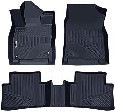 orealtrend Black TPO Floor Mats Liners for Toyota RAV4 2014 2015 2016 2017 2018 not for rav4 Hybrid Heavy Duty All Weather Guard Front and Rear Car Carpet-Custom Fit-Tough//Durable//Odorless