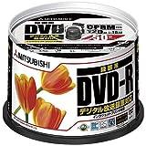 三菱ケミカルメディア DVD-R CPRM録画用120分 16倍速対応 50枚 法人用 VHR12JPP50