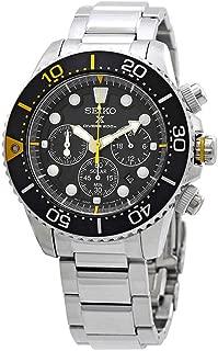 SEIKO Prospex Sea Diver's 200m Chronograph Solar Sports Watch Silver SSC613P1