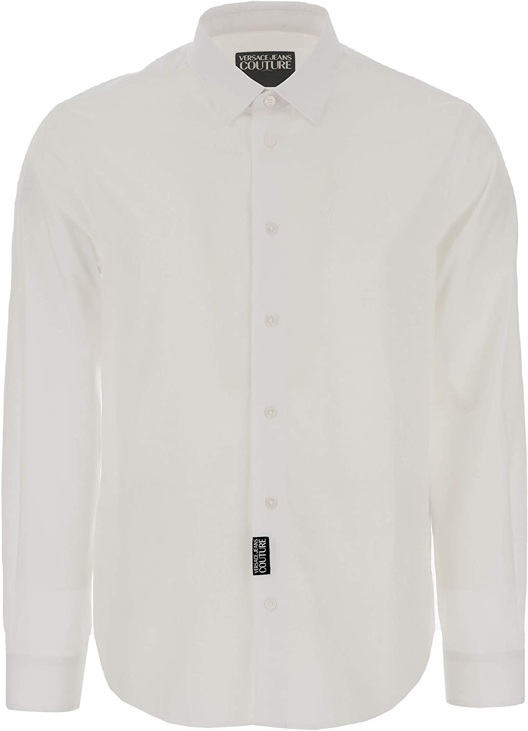 Versace Jeans Couture 100% Cotton V-Logo Classic Shirt- for Mens