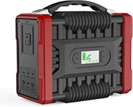 NTONPOWER Portable Power Station 222 Wh Solar Generator, 200W(Peak 320W) CPAP Backup Battery Pack Power Supply 110V AC Outlet, QC3.0 USB, 2 DC Ports, LED Flashlight for Camping, Home, Emergency