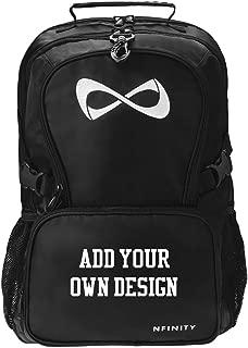 Custom Cheer Bookbag: Nfinity Black Backpack Bag