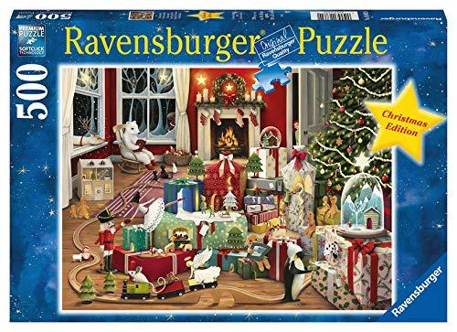 Ravensburger Puzzle, Navidad Mágica, Puzzle 500 Piezas, Puzzle Adultos, Rompecabeza Adultos de Calidad