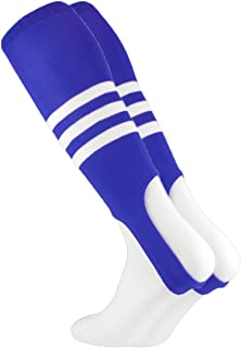 royal blue and red stirrups