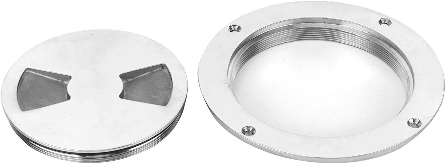 KIMISS Deck Plate 5in Stainless Be super welcome Hatch Steel Cover Cheap Stainles