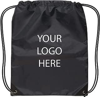 imprinted drawstring backpacks