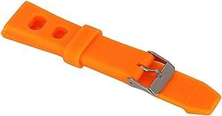 Eulbevoli Bracelet de Montre Bracelet de Montre étanche avec 3 Barres à Ressort pour horlogers/réparateurs de Montres(Orange)