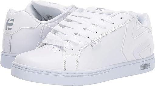 White/White/Reflective