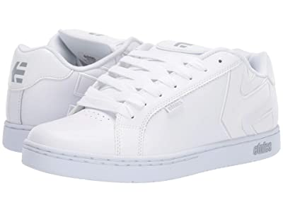 etnies Fader (White/White/Reflective) Men
