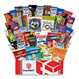 Healthy Snacks Care Package Snack Box (40 Count) for College Students, Exams, Finals, Easter, Gift Basket, Ideas, Get well, Military, Deployment, with Chips, Cookies, Granola Bars and Nuts
