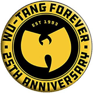 Wu-Tang Clan - Forever 1993 - Pinback Button 1.25