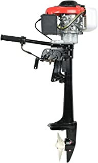 HOTSTORE 4 Stroke 4 HP Outboard Motor Boat Engine Propeller Boat with Water Air Colling System
