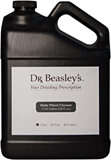 Dr. Beasley's S14D128 Matte Wheel Cleanser - 1 Gallon. Designed for Painted and Powder-Coated Matte Wheels, pH Balanced Fo...