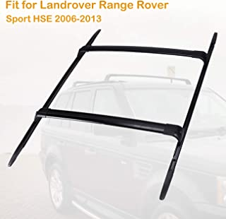 ALAVENTE Roof Rack Crossbars Roof Side Rail Kit Fit for Landrover Range Rover Sport HSE 2006 2007 2008 2009 2010 2011 2012 2013 Raggage Rail Crossbars with Anti-Thief Lock