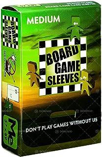 Arcane Tinman Board Games Sleeves: Medium (Non-Glare) 57X89Mm, Clear