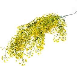 80 cm 1 stuk kunstmatige bloem wijnstok klimop blad nep plant kunstmatige plant groene krans thuis bruiloft decoratie (Col...