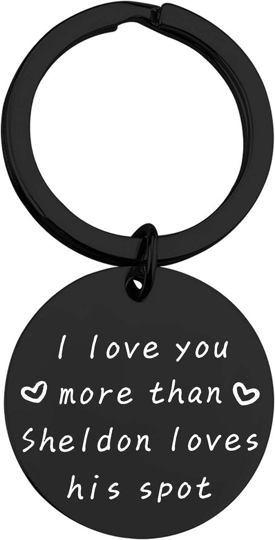 MAOFAED Tv Show Inspired Gift Boyfriend Couple Gift Husband Boyfriend Keychain Valentine's Day Gift