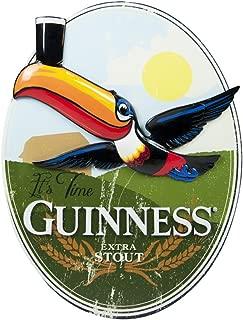 Guinness Oval Toucan Landscape Resin Wall Art