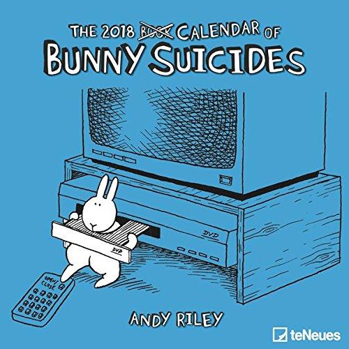 Bunny Suicides 2018: teNeues Broschürenkalender