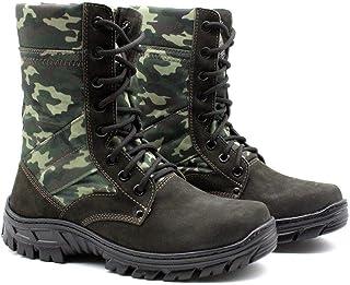 Coturno Militar Bm Brasil Unissex Tático Couro 5150