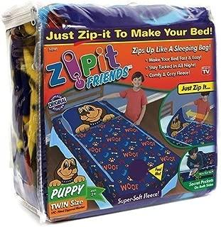 Zipit Friends Twin Bedding Set, Blue Puppy