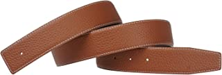 Replacement Belt for Men Reversible Belt Strap Genuine Leather Strap 1.5in Wide
