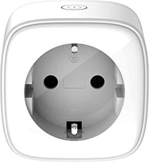 D-Link DSP-W118 mydlink WLAN smart uttag/plug (övervakning av elektriska enheter via appstyrning, fungerar med Google Assi...