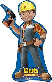 Bob The Builder Supershape Foil Mylar Balloon (1ct)