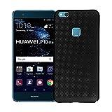 Tianqin Huawei P10 Lite Funda-TPU Hard PC Huawei P10 Lite Cubierta Cooling Respirable Mesh Case Luz Ultra Fino Anti Rasguño para Huawei P10 Lite Caso - Negro