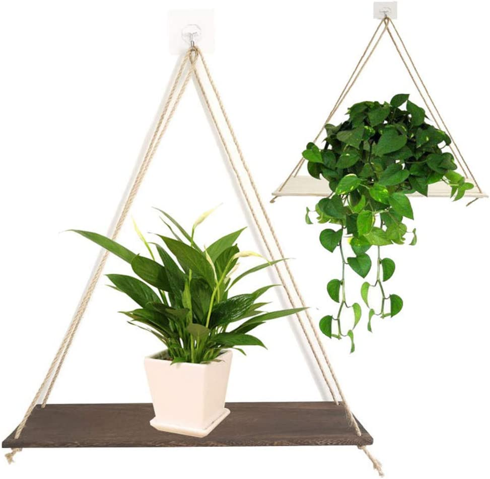 Popular overseas At the price of surprise Hanging Shelves Rope Wall Shelf Bedroom - for