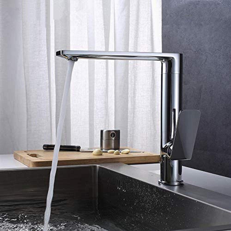 Küchenmischer 360 Rotating Chrome Zeitgenssische Küchenarmaturen Messing Waschbecken Spüle Küchenmischer Wasserhahn Messing Küchenarmatur