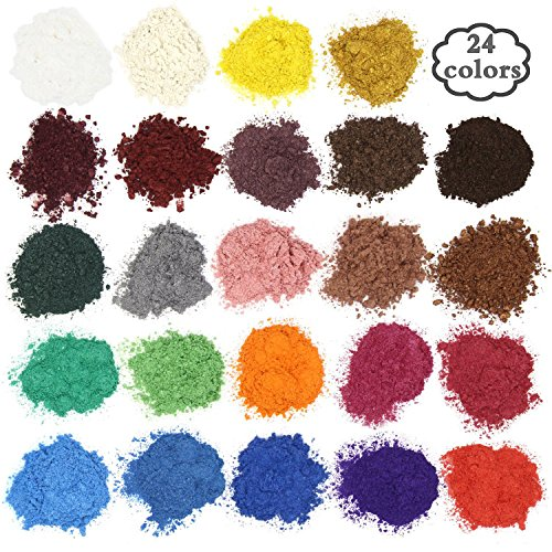 Soap dye - Mica powder - Pigment powder for bath bomb -...