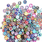 Litensh 200 piezas de granulación de cabujones de cristal...