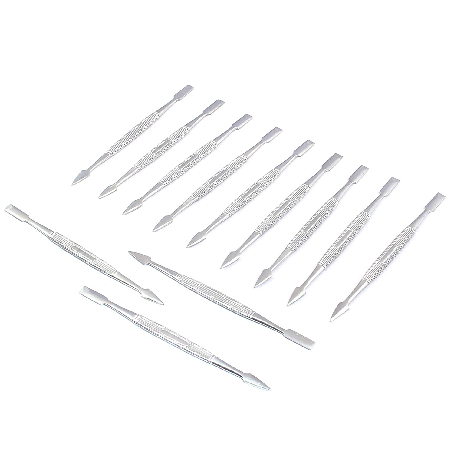 OdontoMed2011 Lot Of 12 Professional Max 55% OFF price Cuticle Pusher Chrome Nail