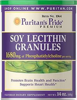 Puritan's Pride Soy Lecithin Granules 1680 mg-14 oz Granules