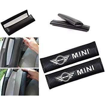 PU Leather Seat Belt Cushion Cover Shoulder Pads for MINI COOPER