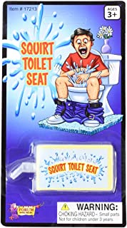 Toilet Seat Squirt Prank Funny Practical Joke Bathroom Gag Gift