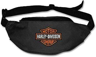 Fanny Pack For Women Men Harley Davidson Logo Waist Bag Pouch Travel Pocket Wallet Bum Bag For Running Cycling Hiking Workout