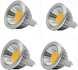 JKLcom MR16 LED Light Bulbs GU5.3/MR16 Base Warm White 3W LED Spotlight Bulbs for Landscape Lighting Recessed Lighting Track Lighting,Equivalent 20W Halogen,Pack of 4
