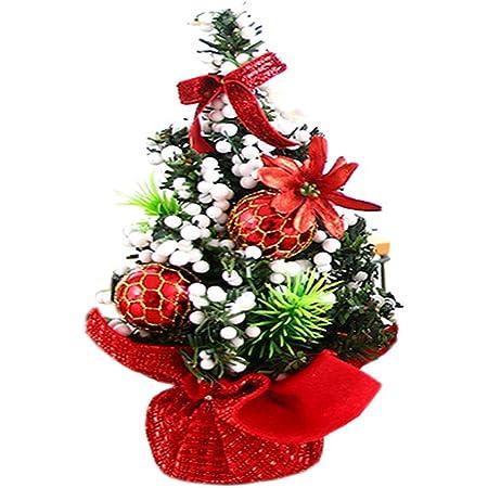 Small Mini Table Top Christmas Tree XMAS 45cm Green DECOR  NEW HOT GREEN YH MJ69