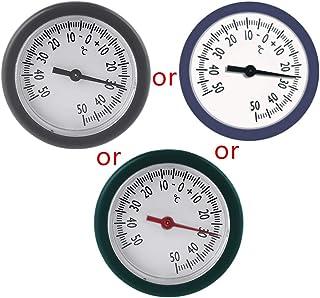 Termometer, bagageväska box termometer inbyggd minitemperaturmätare för förvaringsmonitor