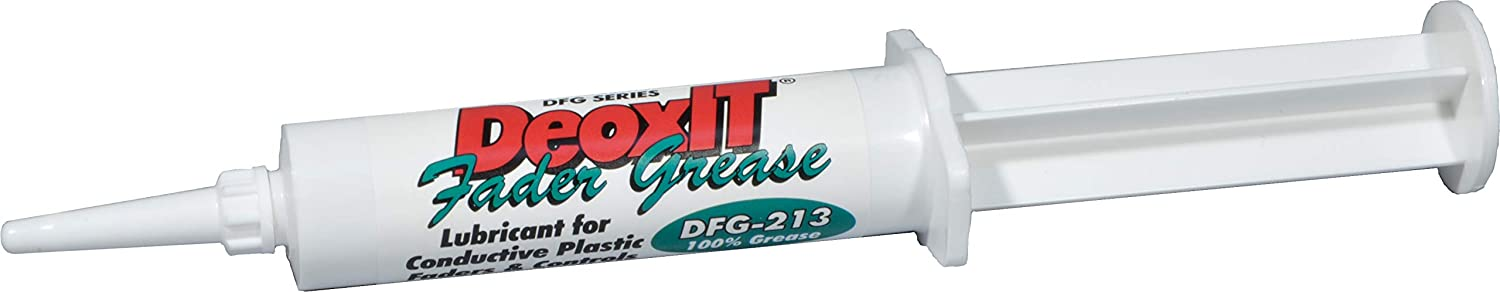 CAIG Laboratories DeoxIT FaderGrease New item OFFicial mail order DFG-213-8G Syringe Applica