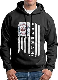 3rd Battalion, 1st Marines American Flag Men's Sweatshirt Pullover Hoodie
