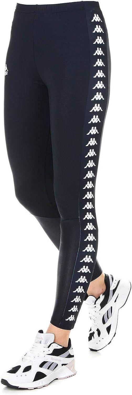 Kappa Women's 304I750901 bluee Polyester Leggings