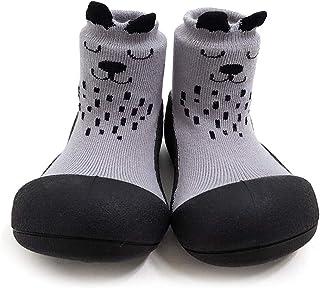 Attipas Cutie Baby Walker Shoes, Grey, Medium