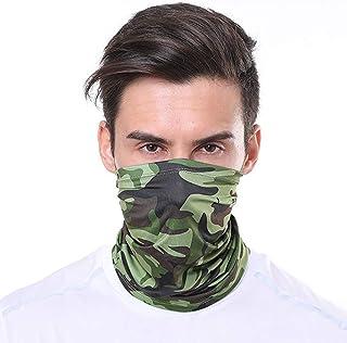kolila Men Women Face Scarf Multifunction Seamless Bandana Scarves Sports Headband Headwear for Dust Headband Bandana